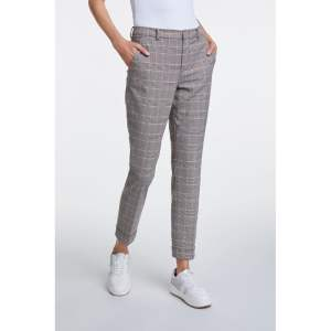 oui checked trousers