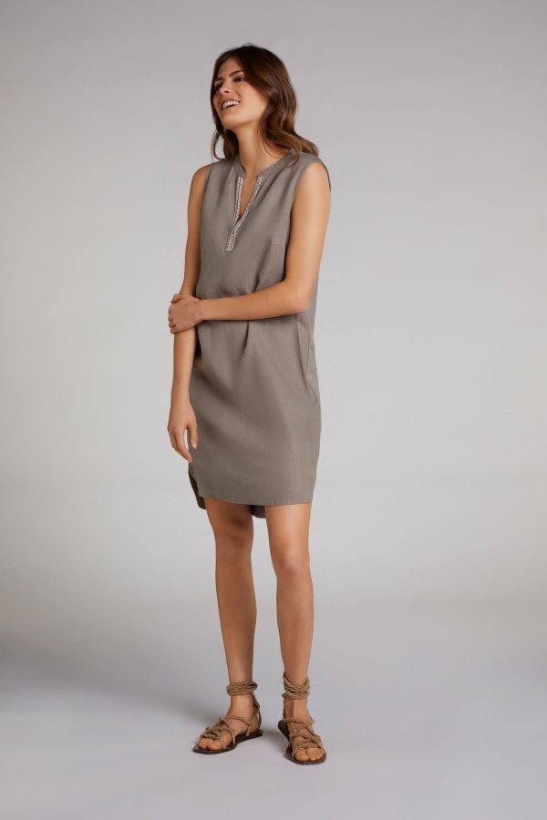 oui linen tunic dress Kerry