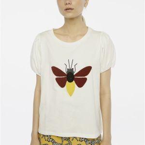 t-shirt white cotton top blouse jeanswear