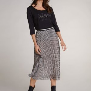 pleated midi skirt dressy casual