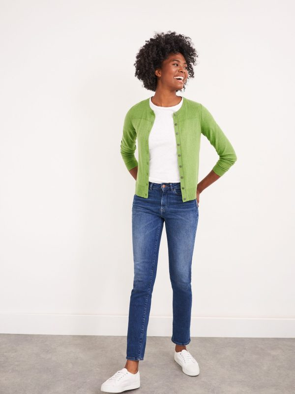 White Stuff knit cardigan green Tralee