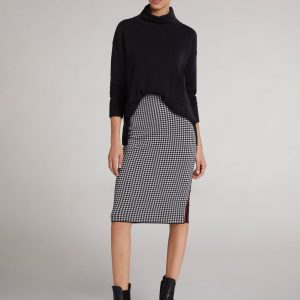 oui black jumper knit
