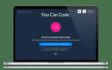 Bitfountain-Website