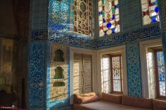 Gorgeous rooms at the Topkapi Palace in Istanbul Turkey