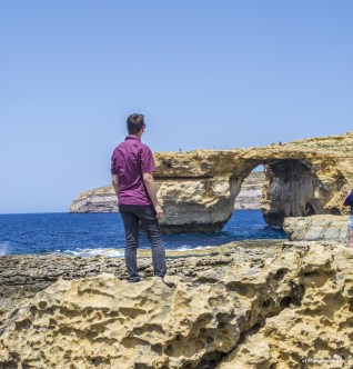Malta Gozo Azure Window - The Game of Thrones filming location for Daenerys' wedding
