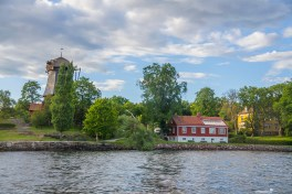 A cruise around the islands of Stockholm, Sweden