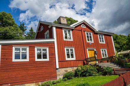 The open air museum of Skansen in Stockholm