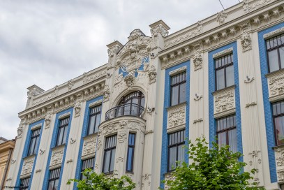 Stunning Art Nouveau architecture in Riga