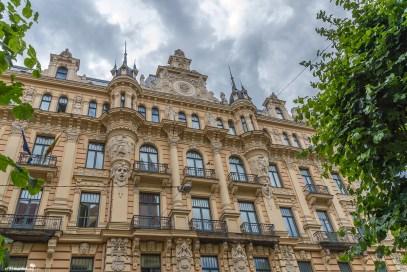 Stunning Art Nouveau architecture in Riga