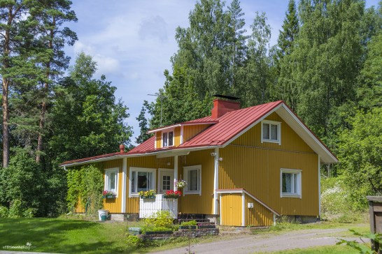 Beautiful house on the way to the Nuuksio National Park