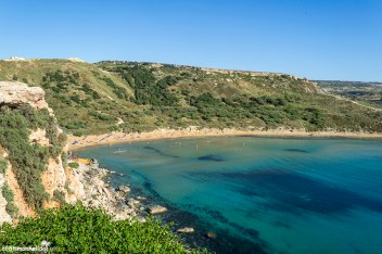 What to see in Malta: Ghajn Tuffieha Bay