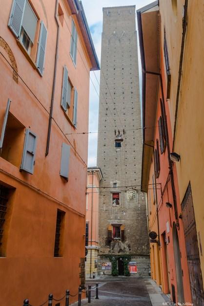 Torre Prendiparte in Bologna, now a unique B&B