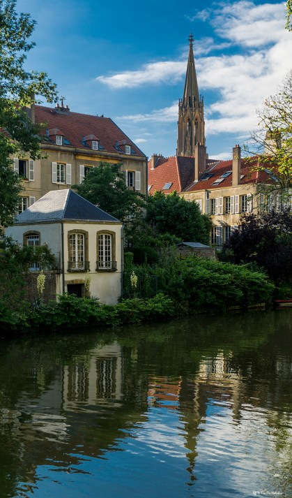 Moselle River Metz