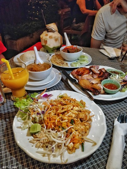 Thai food in Chiang Mai