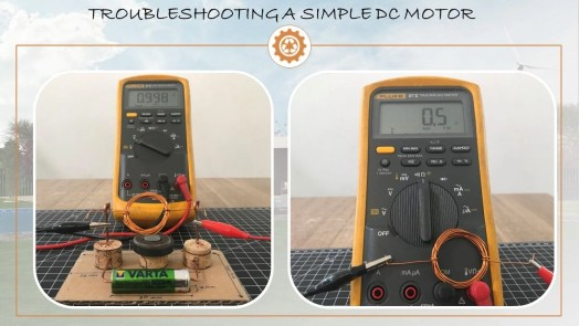 Troubleshooting Simple Motor