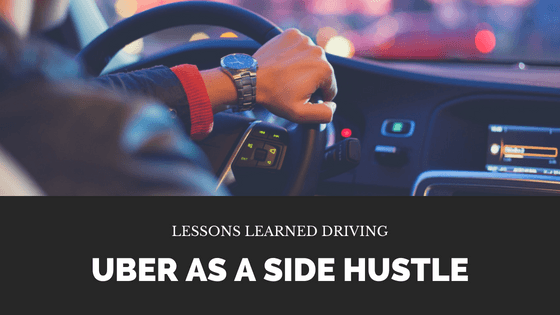Read about the pros and cons of driving Uber as a side hustle. It can potentially be a good way to make some extra money as long as you look at all the pros and cons.