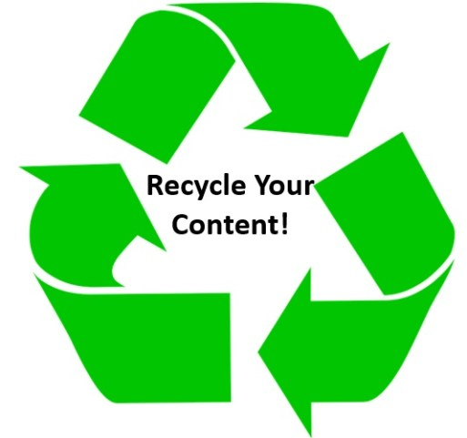 Recycle your web content