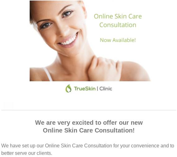 online skin care consultation Calgary spa