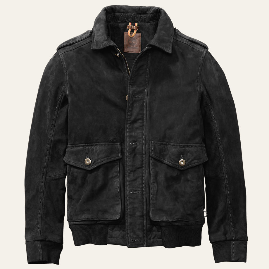 timberland a2 bomber on effortless gent
