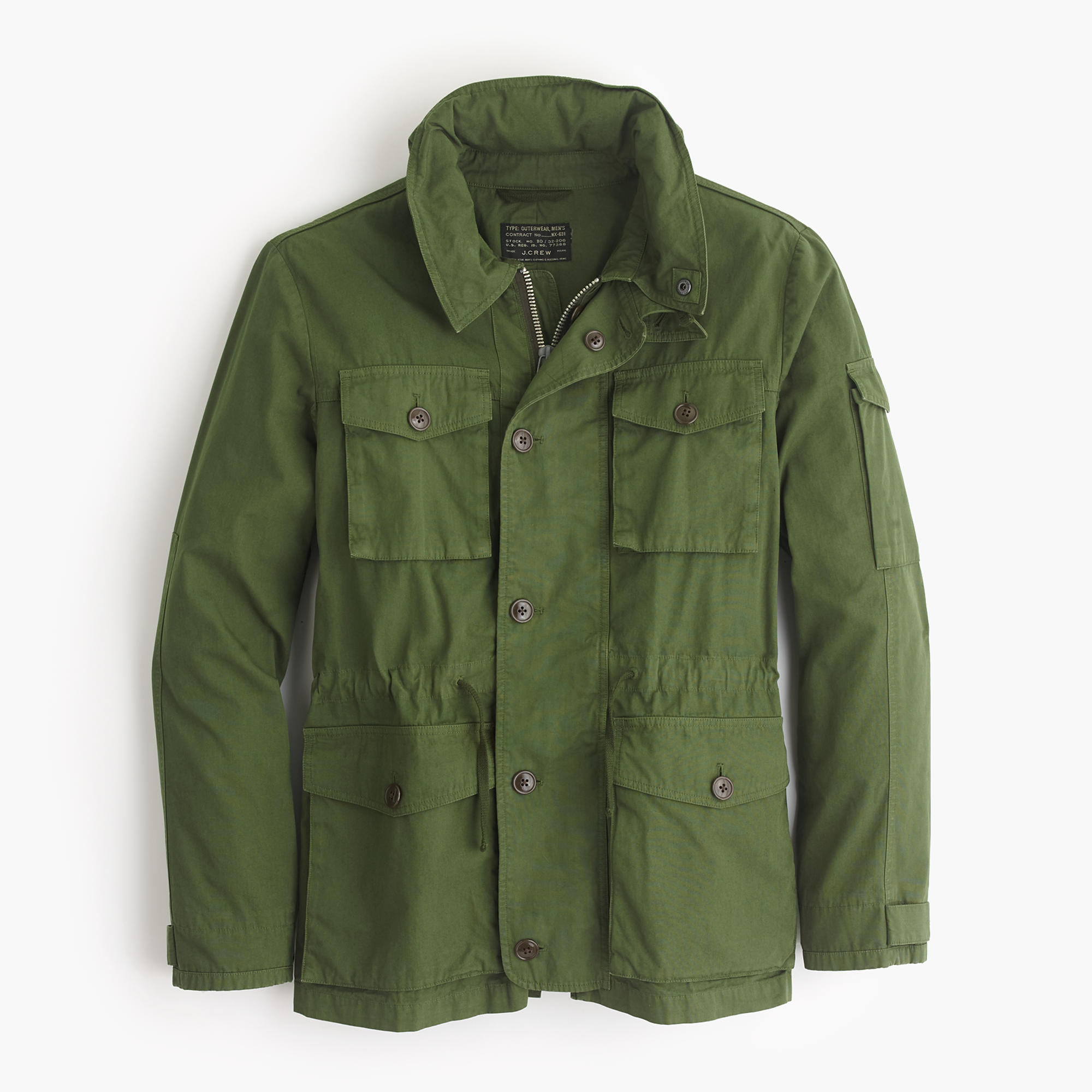 jcrew m65 jacket on effortless gent