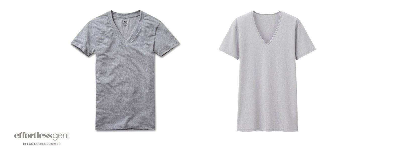 undershirts - summer clothes for men - effortless gent