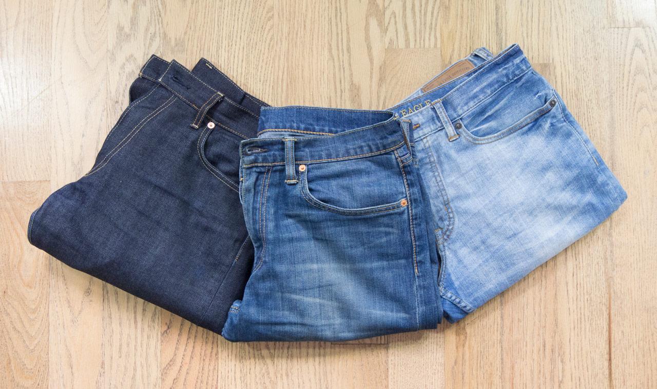 effortless essentials minimalist wardrobe - jeans