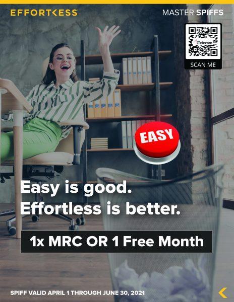 Q2 Master Spiff - Easy Is Good_iTelecom