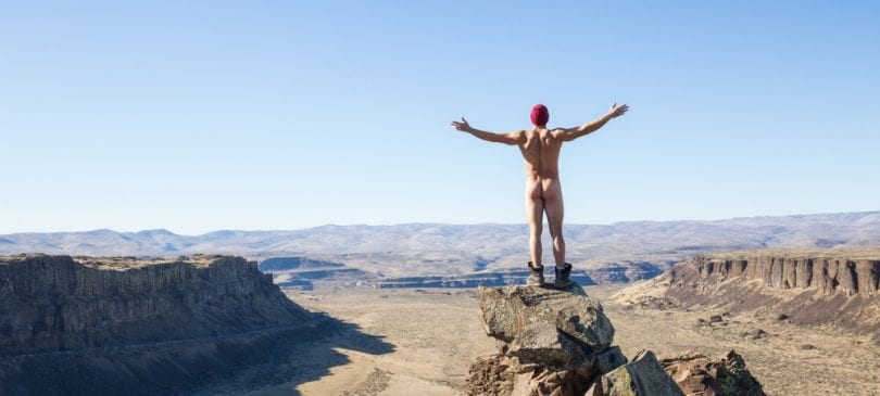 Naked Hiking