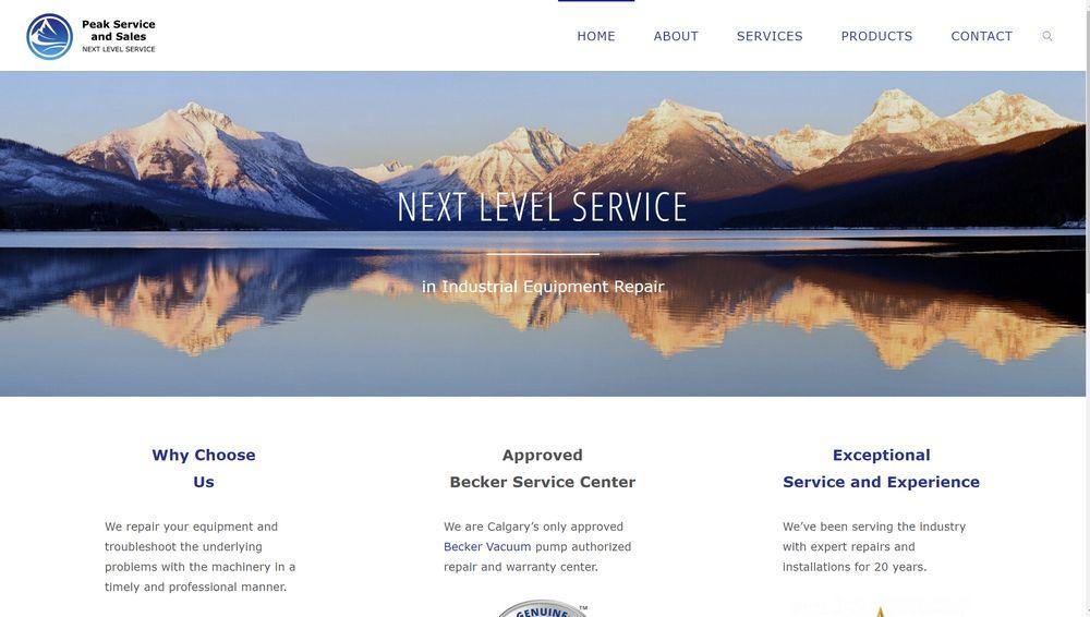 peakserviceandsales.com
