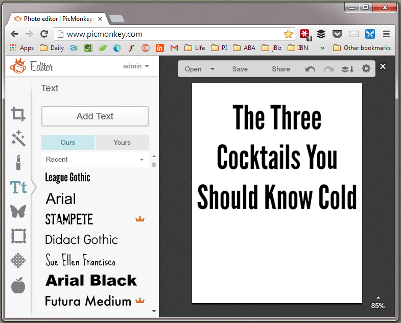 Make a PDF Image Screenshot