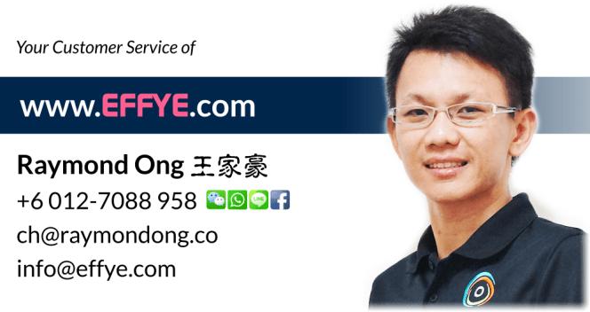 Raymond Ong Effye Media Segamat Website Design Online Media Advertising Web Development Education Webpage Facebook eCommerce Management Photo Shooting Malaysia NC01