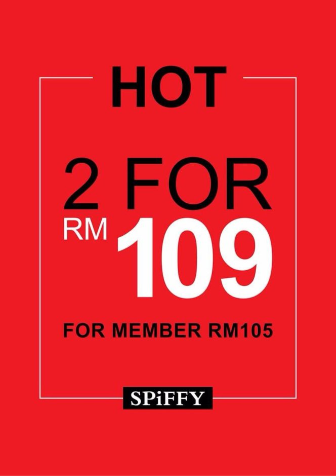 Spiffy Shoes Sales Malaysia for With You Club Members 2 pairs of shoes RM109 only Spiffy Shoes A01.jpg