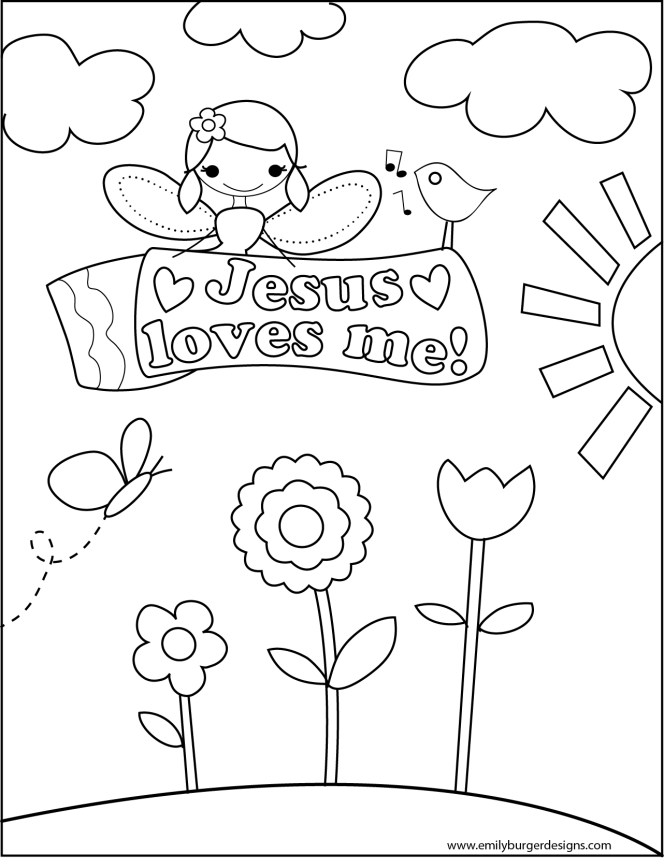 Jesus Christ Coloring Images Sunday School Images for You to Fill with Colour A24