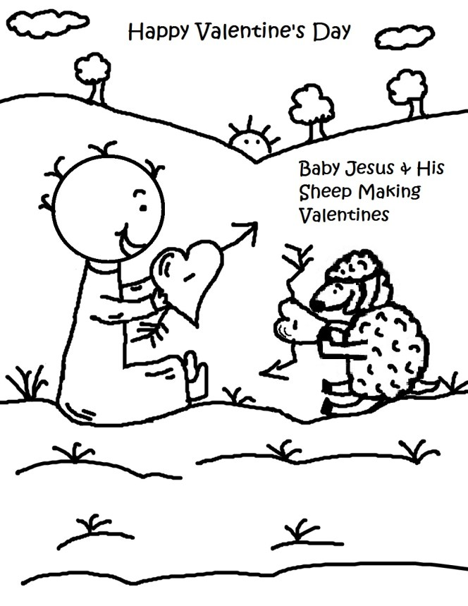 Jesus Christ Coloring Images Sunday School Images for You to Fill with Colour A30