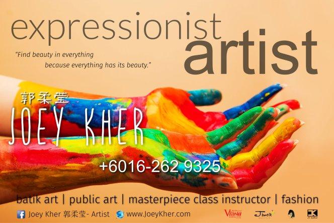 Joey Kher Education Viana Academy of Art J Batik Malaysia JK Leather Malaysia Vocal Training MasterPiece Class Workshop A01