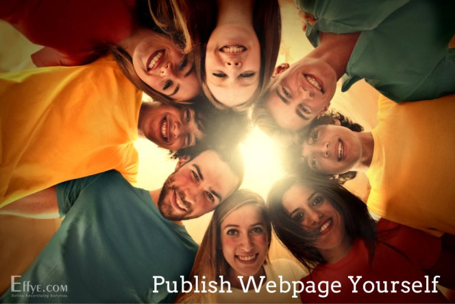 Publish Advertising and Your Products and Services Yourself at Effye Website Be your own web designer A02