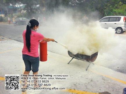 Malaysia Johor Batu Pahat Fire Extinguisher Prevention Equipment Chop Soon Kiong Trading 顺強贸易 Safety Somke Alarm Fire Prevention Protection Fire Hose Reel Bomba 灭火器-B01