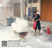 Malaysia Johor Batu Pahat Fire Extinguisher Prevention Equipment Chop Soon Kiong Trading 顺強贸易 Safety Somke Alarm Fire Prevention Protection Fire Hose Reel Bomba 灭火器 C05