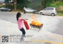 Malaysia Johor Batu Pahat Fire Extinguisher Prevention Equipment Chop Soon Kiong Trading 顺強贸易 Safety Somke Alarm Fire Prevention Protection Fire Hose Reel Bomba 灭火器-B03