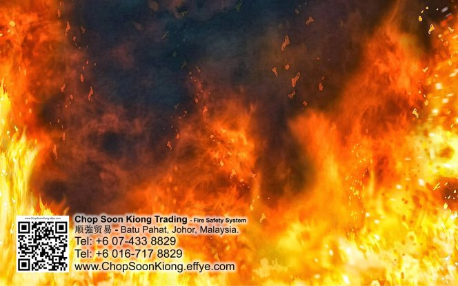 Malaysia Johor Batu Pahat Fire Extinguisher Prevention Equipment Chop Soon Kiong Trading 顺強贸易 Safety Somke Alarm Fire Prevention Protection Fire Hose Reel Bomba 灭火器 D10