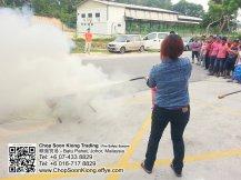 Malaysia Johor Batu Pahat Fire Extinguisher Prevention Equipment Chop Soon Kiong Trading 顺強贸易 Safety Somke Alarm Fire Prevention Protection Fire Hose Reel Bomba 灭火器-B05