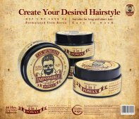 Tak Mungkin PoWax Malaysia Impossible PoWax Malaysia Poster - 48 hours long-lasting hairstyle products JPG A03