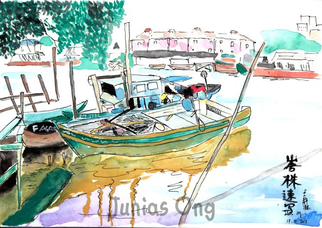 Junias Ong Painting Dwawing Sketching World 王静凝 图画 素描 彩绘 A05