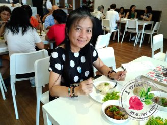 Malaysia Johor Batu Pahat Vegetarian Food Restaurant and Cafe Delicious Food and Beverages 马来西亚 柔佛 峇株巴辖 素食餐厅 和 咖啡厅 美食 我肚子饿了 B23