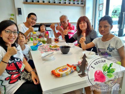 Malaysia Johor Batu Pahat Vegetarian Food Restaurant and Cafe Delicious Food and Beverages 马来西亚 柔佛 峇株巴辖 素食餐厅 和 咖啡厅 美食 我肚子饿了 B26