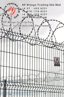 BP Wijaya Trading Sdn Bhd Malaysia Selangor Kuala Lumpur manufacturer of safety fences building materials for housing construction site Security fencing factory security home security A02-06
