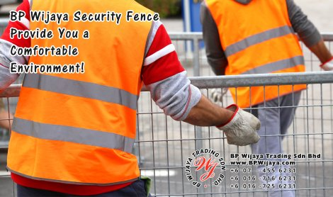 BP Wijaya Trading Sdn Bhd Malaysia Selangor Kuala Lumpur Manufacturer of Safety Fences Building Materials for Housing Construction Site Security Fencing Factory Security Home Security C01-78