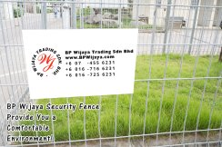 BP Wijaya Trading Sdn Bhd Malaysia Selangor Kuala Lumpur Manufacturer of Safety Fences Building Materials for Housing Construction Site Security Fencing Factory Security Home Security C01-82