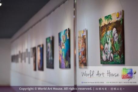 马来西亚 哥打白沙罗 八打灵再也 吉隆坡 雪兰莪 金犬报喜迎旺年 创意填色比赛 World Art House 世界艺术画室 及 1 Utama Shopping 金爺爺 JinYeYe Effye Media A012