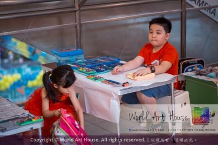 马来西亚 哥打白沙罗 八打灵再也 吉隆坡 雪兰莪 金犬报喜迎旺年 创意填色比赛 World Art House 世界艺术画室 及 1 Utama Shopping 金爺爺 JinYeYe Effye Media A010